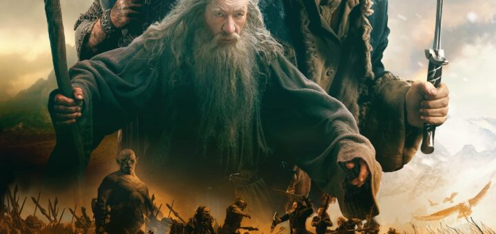"""Poster for the movie """"The Hobbit: The Battle of the Five Armies"""""""